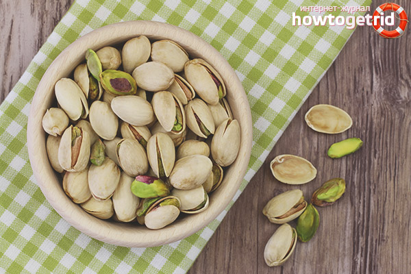 Bahaya pistachio semasa kehamilan