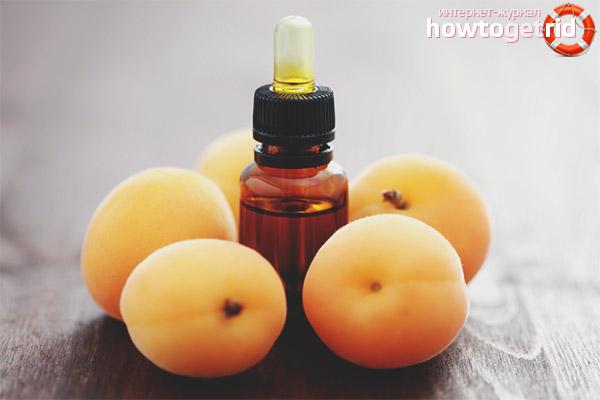 Aprikosen-Haaröl