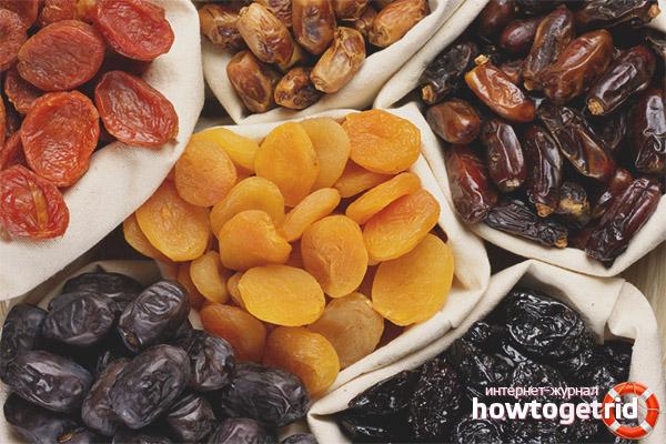 Dopuszczalne suszone owoce do karmienia piersią