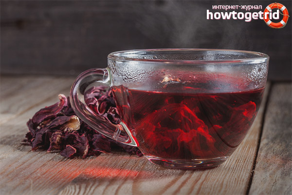 Как да пием чай от хибискус за отслабване