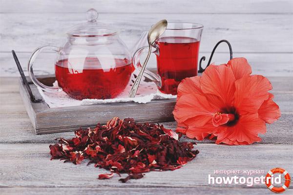Как да приемате чай за хибискус за отслабване