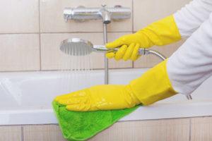 Làm thế nào để loại bỏ vôi trong phòng tắm