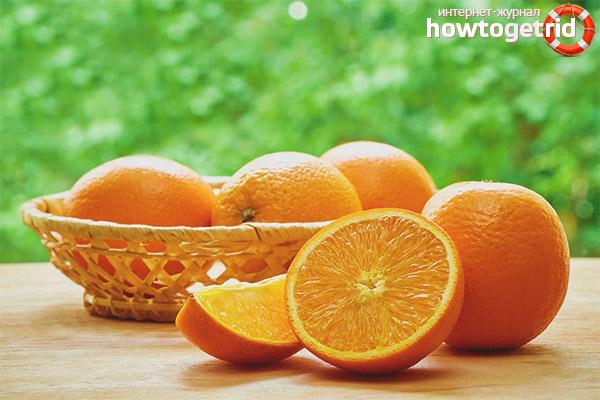 Cum să consumi portocale în timpul alăptării