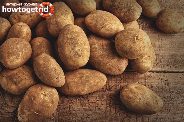 Patates en la dieta d'una mare lactant