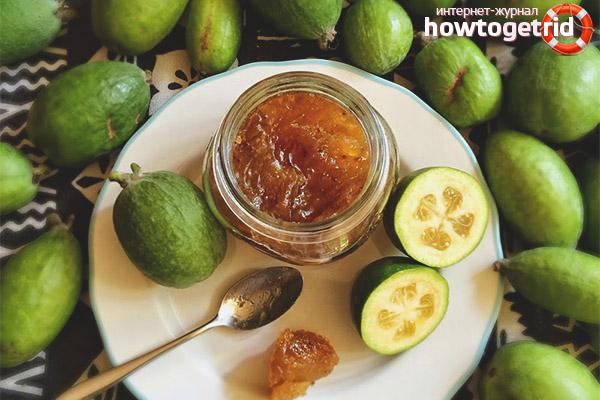 Feijoa Honey Jam