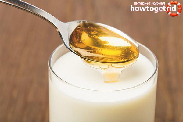 Piens ar medu grūtniecības laikā