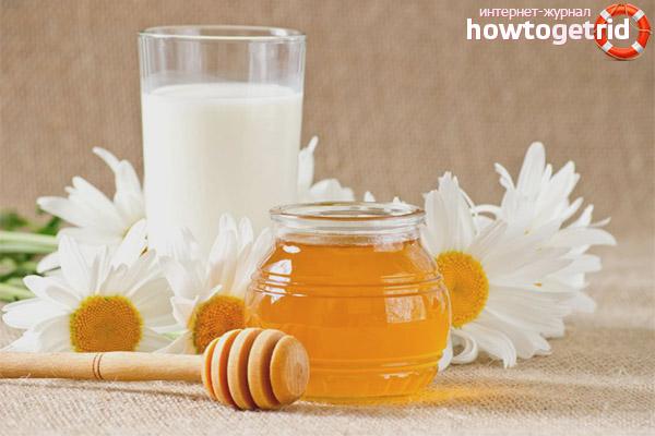 Vai grūtnieces var dzert pienu ar medu?