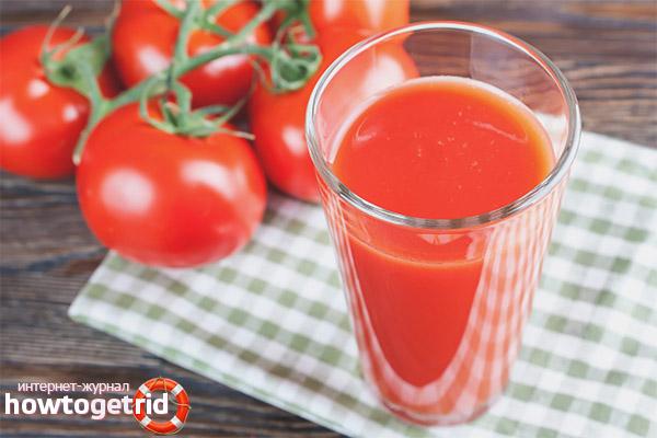 Мога ли да пия доматен сок по време на бременност?
