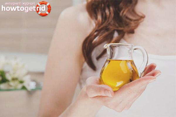 Penggunaan minyak primrose petang secara luaran