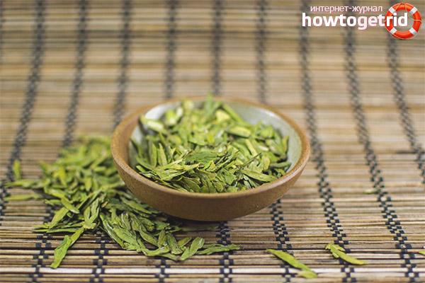 Beneficis del te Longjing