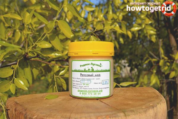 Els avantatges de la mel de colza