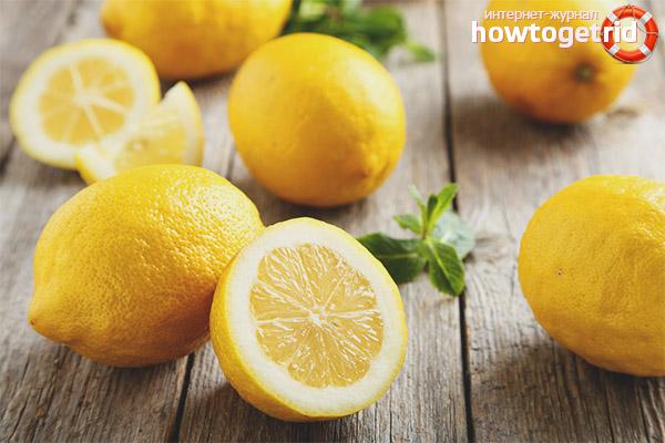 Правила за въвеждане на лимони в диетата на кърмачка