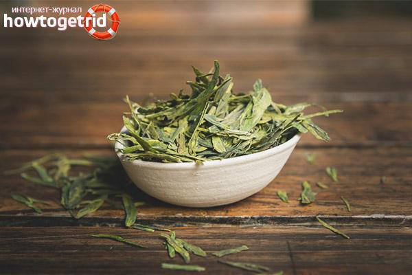 Producció de te de Longjing