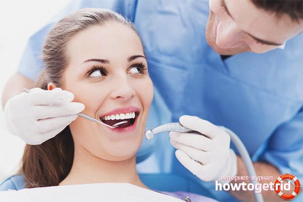 Wie viel kann nach dem Füllen der Zähne nicht gegessen werden