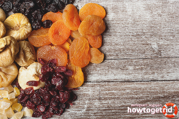 Suszone owoce do karmienia piersią
