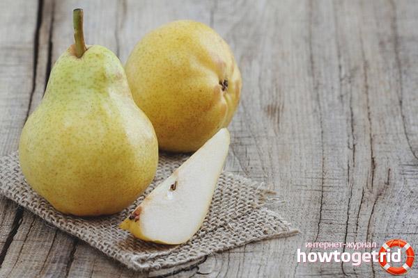 Während des Stillens eine Birne essen