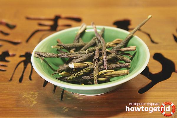 Nocius i contraindicacions a l'ús del te Kudin