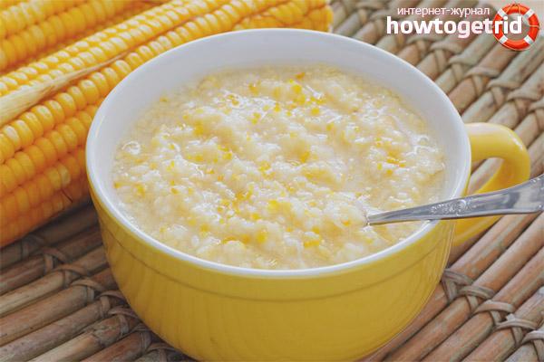 Szkoda owsianki kukurydzianej podczas karmienia piersią