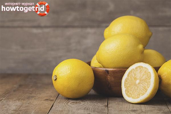 Вредите лимона, докато кърмите