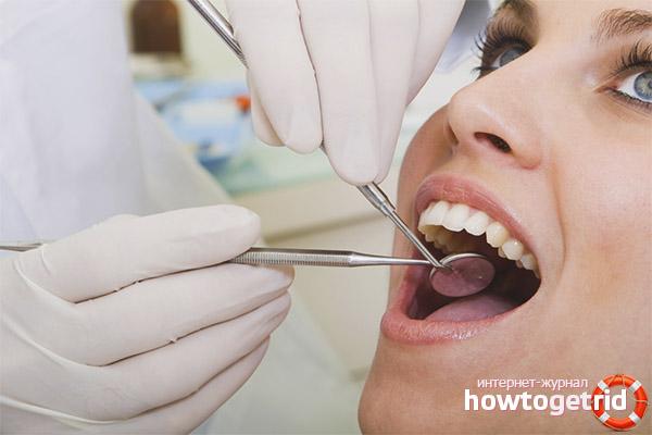 Netejar les dents durant l'embaràs