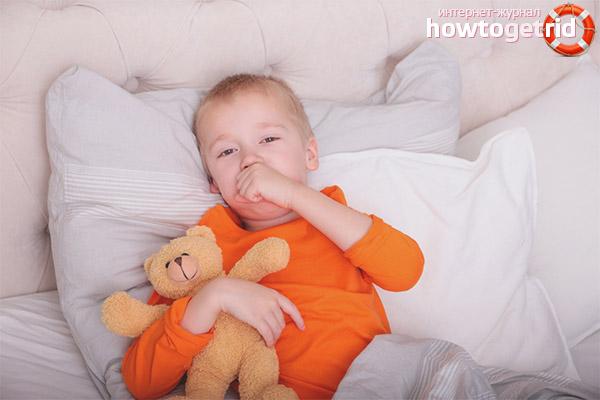 Co zrobić, gdy dziecko kaszle w nocy