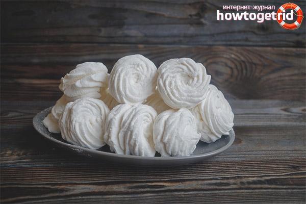 Was ist Diät Marshmallow und wie man es kocht