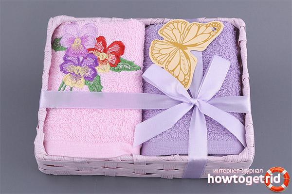 Com donar una tovallola com a regal