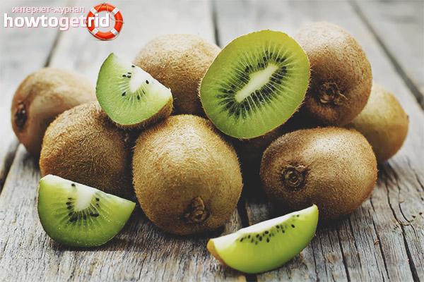 Com menjar kiwi