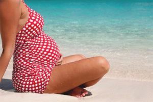 Les dones embarassades poden anar al mar