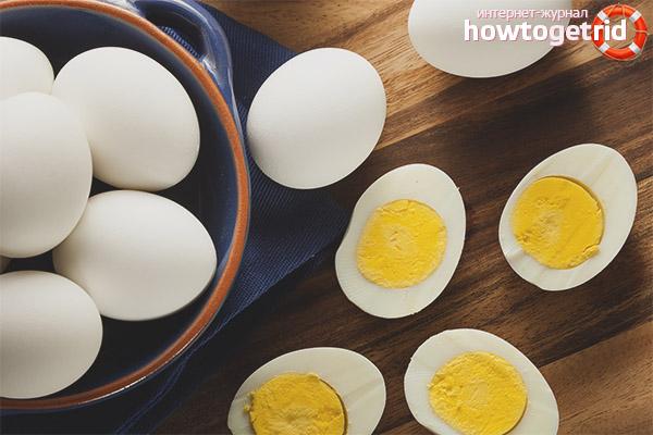 Ist es möglich, nach dem Training Eier zu essen?
