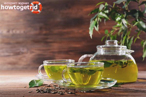Kann ich für eine stillende Mutter grünen Tee trinken?