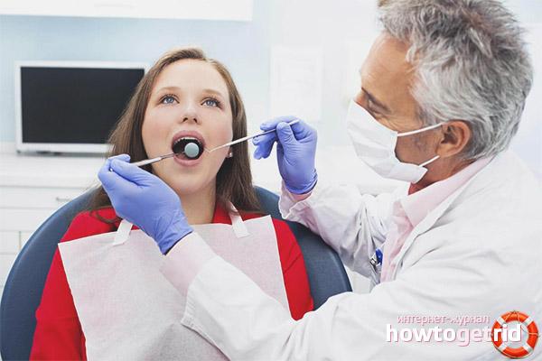 Es poden extreure les dents durant l'embaràs