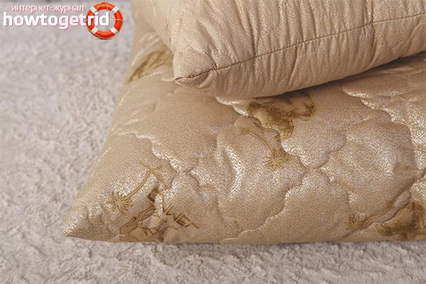 Inconvénients des oreillers en laine de chameau