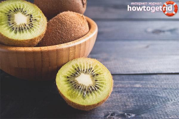 Propietats útils i contraindicacions de kiwi