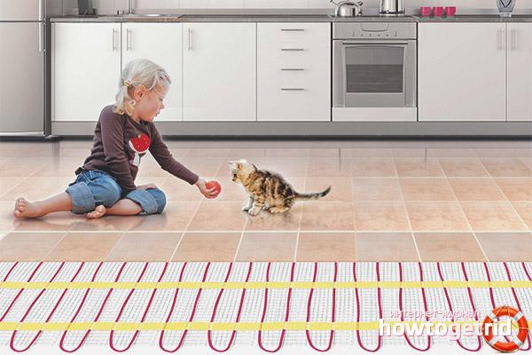 Предимствата на електрическото подово отопление над водата