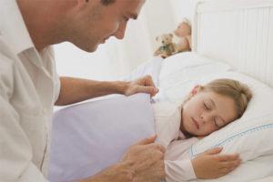 Pukul berapa untuk meletakkan bayi di tempat tidur