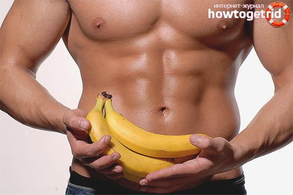 Pot să mănânc banane după un antrenament?