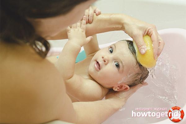 Vai ir iespējams peldēt bērnu pēc vakcinācijas