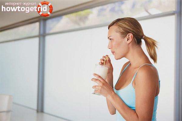 Kann man nach dem Training Kefir trinken?