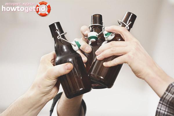 Kann ich nach dem Training Bier trinken?