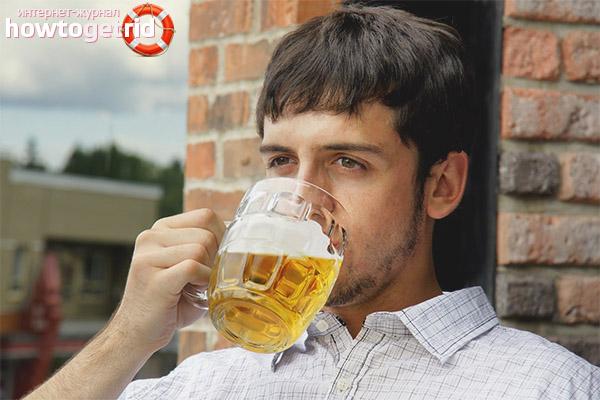 Bia làm giảm căng thẳng