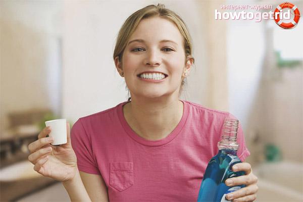 Efektīvi farmakoloģiski mutes skalošanas līdzekļi
