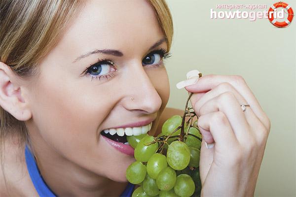 Ist es möglich, Trauben mit Samen zu essen