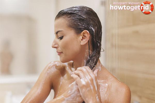 Kan jag tvätta håret med kallt vatten