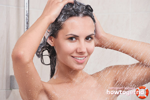 Optimal temperatur för att tvätta håret