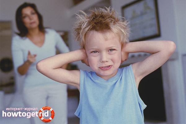 Grito pode ser usado para punir crianças