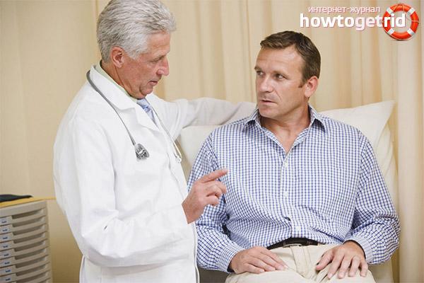 Was tun, wenn ein Mann an Diabetes leidet?