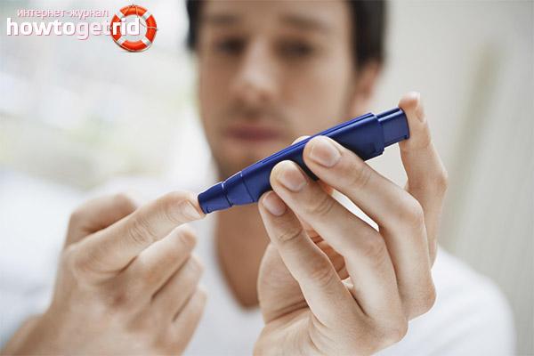 Die ersten Anzeichen von Diabetes bei Männern
