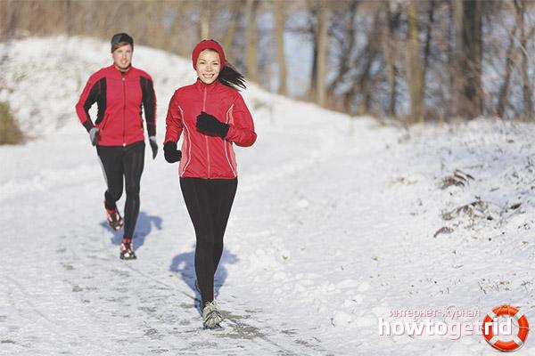 Джогинг през зимата