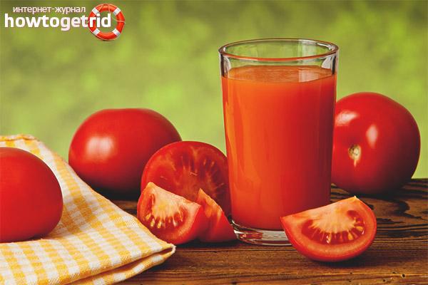 Стойността на доматения сок